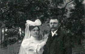 Свадебные наряды конца XIX века