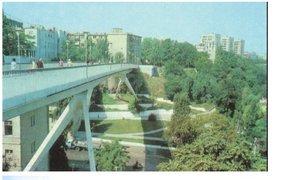 Фото: Тещин мост, панорама с Воронцовской колоннады
