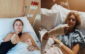 Кортни Уитхорн с детства имела привычку грызть ногти. Фото: Mercury Press & Media
