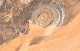 Структура Ришат в Мавритании. Кадр: Bright Insight