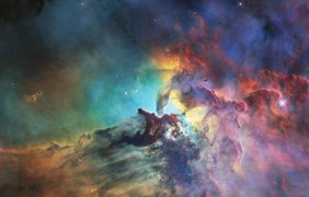 Туманность Лагуна Фото: ESA
