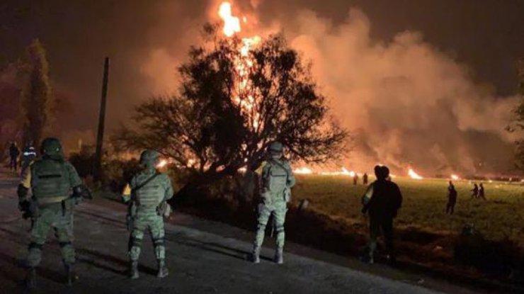 Трубопровод взорвался в Мексике: погибли 20 человек