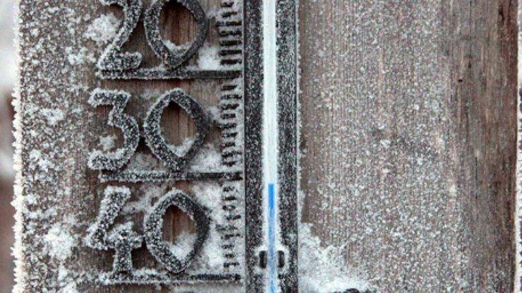 Фото: мороз в Украине