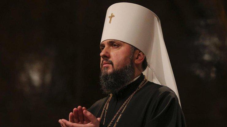 ВКиеве в монастыре Святой Софии проходит рождественская литургия,