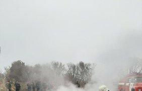 Крушение вертолета/ Фото: полиция