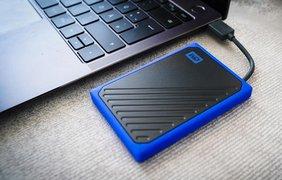 Тонкий внешний SSD за копейки – обзор WD My Passport Go 500 ГБ Blue