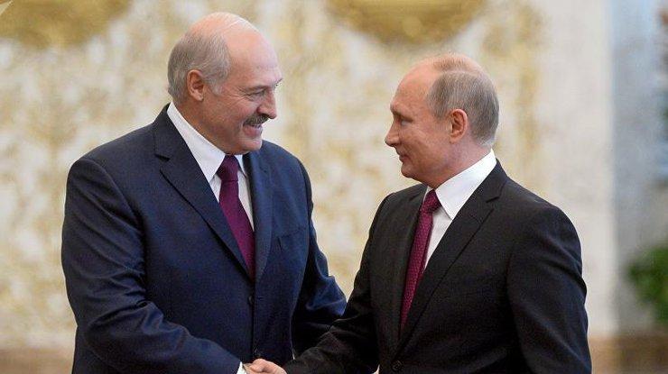 Фото: Александр Лукашенко и Владимир Путин / sputnik.by