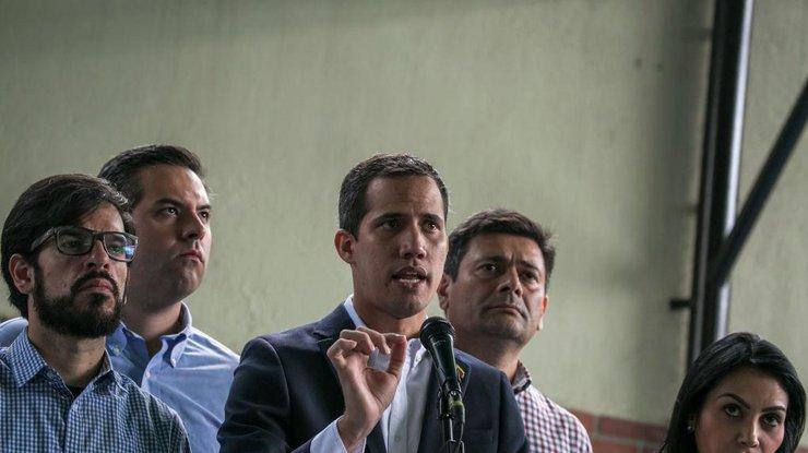 Оппозиционный лидер Венесуэлы Хуан Гуайдо