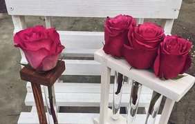 Роза в колбе / Фото: из Instagram