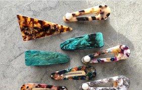 Самые стильные заколки / Фото: pinterest.com