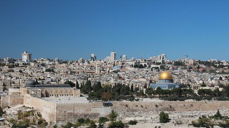 ВИерусалиме наХрамовой горе вспыхнул пожар