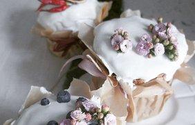 Идеи, как украсить кулич на Пасху / Фото: pinterest.com