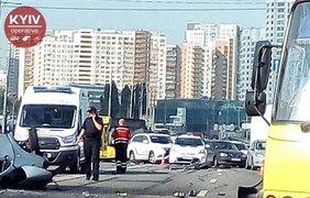 В Киеве в страшном ДТП погибли четыре человека