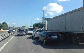 На Столичном шоссе произошло жуткое ДТП
