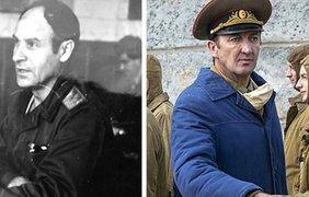 Руководитель воинских подразделений ликвидаторов генерал-майор Николай Тараканов и Ральф Айнесон