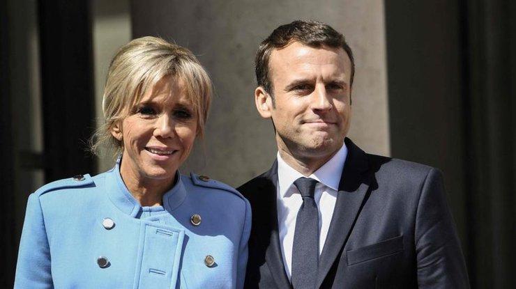 Первой леди Франции Брижит Макрон сделали пластическую операцию