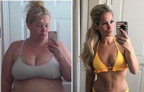 Женщина похудела на 76 кг/ Фото: Instagram/itsamommythang