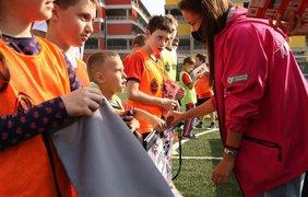 """Фото: тренировка для детей от """"Шахтера"""""""
