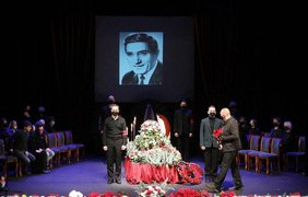 Прощание с актером / Фото: Telegram / SputnikArmenia