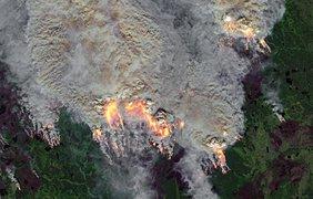 Разрушительные пожары в республике Саха за полярным кругом