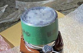 Иностранец пытался вывезти из Украины 8 кг ртути/ Фото: ssu.gov.ua