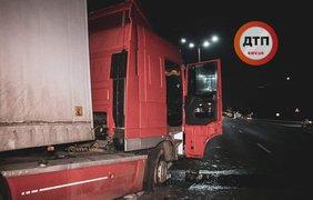 Фура с алкоголем попала в аварию/ Фото: dtp.kiev.ua