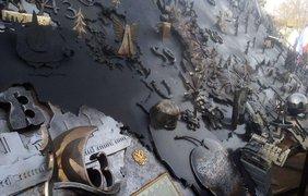 В Симферополе установили кованную карту России/ Фото: vesti-k.ru