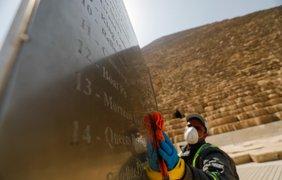 В Египте дезинфицируют пирамиды/ Фото: Reuters