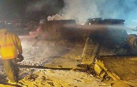 На Филиппинах при взлете разбился самолет/ Фото: news.mb.com.ph