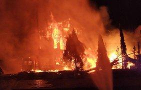 В Киеве случился пожар/ Фото: socportal.info