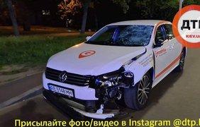 Авария на улице Шептицкого/ Фото: dtp.kiev.ua