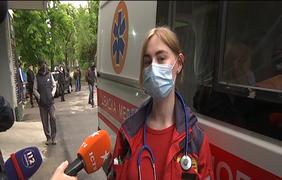 Протесты медиков / Фото: Подробности