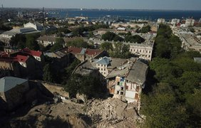 В Одессе рухнула часть дома / Фото: dumskaya.ne