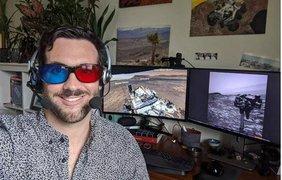 Ученые NASA управляют марсоходом из дома/ Фото: internetua.com