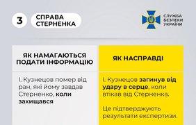 Дело Стерненко: позиция СБУ