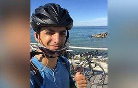 Студент возвращался домой на велосипеде 48 дней/ Фото: edition.cnn.com