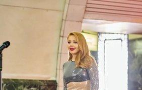 "Тина Кароль в метро / Фото: пресс-служба канала ""Украина"""