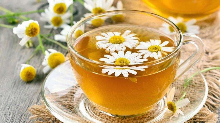 ромашковый чай снижает давление