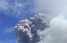 """В Индонезии """"проснулся"""" вулкан/ Фото: bykvu.com"""
