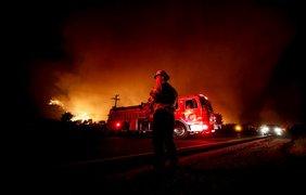 Пожар в Калифорнии / Фото: EPA/UPG