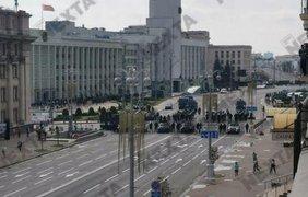 В центре Минска произошла стычка силовиков с протестующими/ Фото: NEXTA