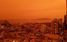 Калифорнию охватили лесные пожары/ Фото: twitter.com/FrankIsimp