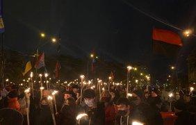 Шествие в Киеве/ Фото: kyiv.npu.gov.ua