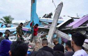 Землетрясение в Индонезии/ Фото: Twitter
