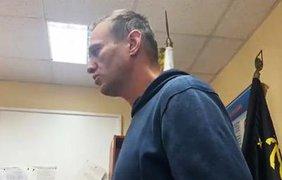 Навального арестовали/ Фото: из открытых источников