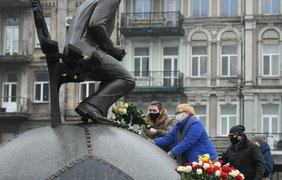 Памятник Валерию Лобановскому / Фото: fcdynamo.kiev.ua