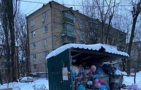 Мусор в Киеве / Фото: facebook.com/groups/poh2015