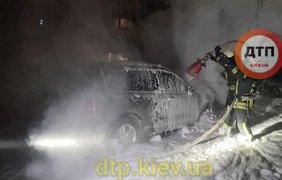 Поджег авто / Фото: ДТП.kiev.ua