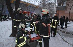 Пожар в Харькове/ Фото: kh.dsns.gov.ua