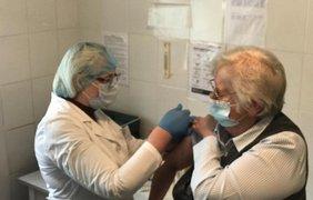 Вакцинация в Киевской области/ Фото: facebook.com/koda.gov.ua
